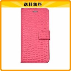 830d6c9ee2 PLATA iPhone6 plus iPhone6s plus ケース 手帳型 クロコダイル レザー デザイン スタンド ケース ポーチ 【 ビビット