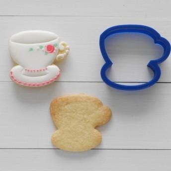 ティーカップ・珈琲カップ【縦5cm】クッキー型・クッキーカッター