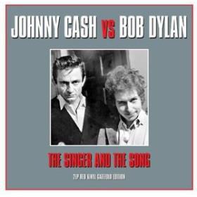 Johnny Cash & Bob Dylan / Singer & The Song (UK盤)【輸入盤LPレコード】(ジョニー・キャッシュ&ボブ・ディラン)