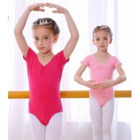 子供ダンス衣装 バレエ レオタード  女の子 子供 キッズ ジュニア 練習着 演出用  バレエレオタード バレエ形体服 伸縮性