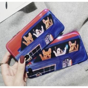 スマホカバーiPhone8/iPhone8Plus/iPhone7/iPhone7 Plus/iPhone6/iPhone6 Plus/ケース可愛い犬柄スマホケースTSL91