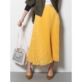 [LAGUNAMOON]シアージャカードプリーツスカート