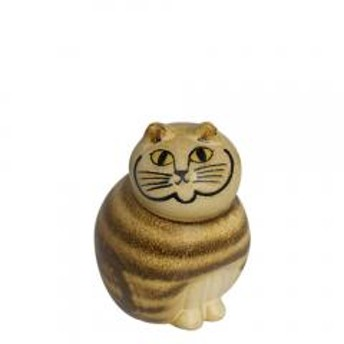 【5%OFFクーポン利用可能】リサ・ラーソン 置物 ねこ 猫(リサラーソン)キャットミア ミニ(小)ブラウン 動物 LisaLarson(Lisa Larson)Mia Cat(Cats Mia)Mini 1150103 ネコ・陶器・北欧インテリア【ク