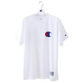 (セール)Champion(チャンピオン)バスケットボール メンズ 半袖Tシャツ DRYSAVER T-SHIRTS C3-MB352 メンズ ホワイト