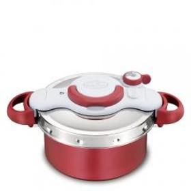 送料無料 T-fal 圧力鍋と鍋が一つに!クリプソ ミニット デュオ レッド 4.2L P4604236 ティファール【北海道・沖縄は別途962円加算】