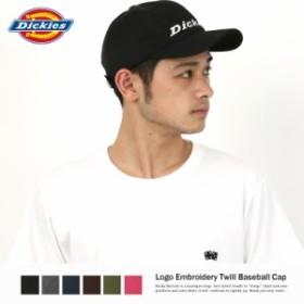 Dickies キャップ メンズ ローキャップ ツイル 刺繍 ロゴ 帽子 ディッキーズ アメカジ 7996