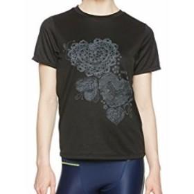 (ダンスキン)DANSKIN フィットネスウェア Tシャツ DB77183T [レディーズ] DB77183T K ブラック M
