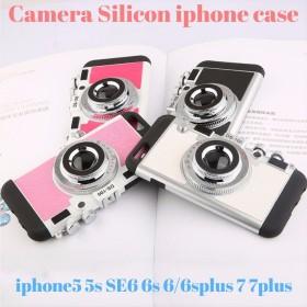 iphoneケース iphone8 8plus 7 7plus 6s 6 6splus 6plus SE 5s 5 スマホケース 韓国 シリコン カメラデザイン 日本未入荷