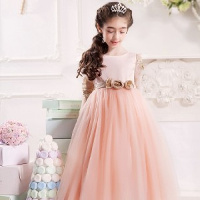 0ec5f4981db6a 子供ドレス フォーマル キッズ女の子 ジュニア 子供服 ワンピース 七五三 結婚式 ピアノ発表会 お祝い
