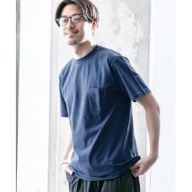 WORK NOT WORK(ワークノットワーク) トップス Tシャツ・カットソー IDCN クルーネックチューブポケット Tシャツ