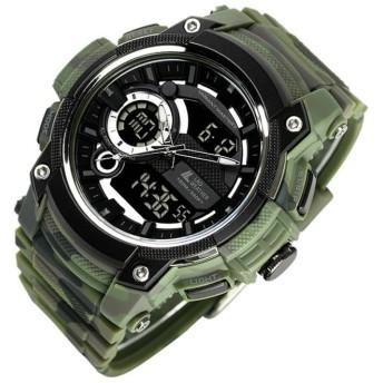 LAD WEATHER(ラドウェザー) ヴァリアントマスターII トリプルタイム搭載腕時計 lad043cmgr-bk
