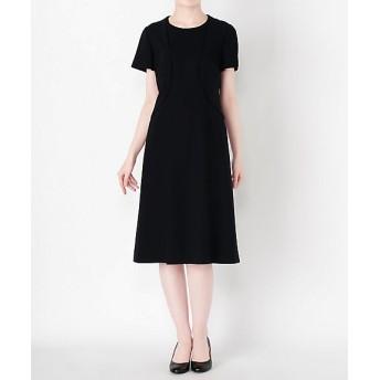 <nouv confini> ドレス(116-0003) ネービーブルー【三越・伊勢丹/公式】