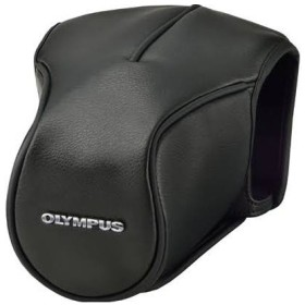 OLYMPUS CS-46FBC BLK ブラック [革カバー&ボディージャケット (OM-D E-M5 Mark II 専用)] カメラバッグ類