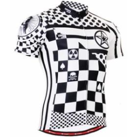 fixgear フィクスギア サイクルウェア 大人気 個性的な半袖サイクルジャージ 吸汗速乾 男性用 半袖 春夏新発売 上下セット