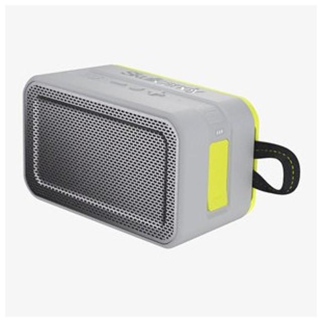 スカルキャンディ Bluetoothスピーカー(グレー/ ホットライム) Skullcandy Barricade XL S7PDW-J583-I 返品種別A