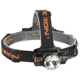 【送料無料】ニクロン(Nicron) 高輝度ヘッドライト 900ルーメン 充電式 ブラック H30