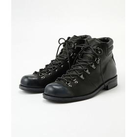 <パドローネ/PADRONE> TREK BOOTS(PU8586-1203-17C) ブラック 【三越・伊勢丹/公式】