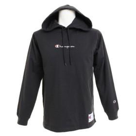 チャンピオン-ヘリテイジ(CHAMPION-HERITAGE) ロングスリーブフードTシャツ C3-M414 090 (Men's)