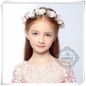 送料無料沖縄北海道除くキッズカチューシャ子供アクセサリーキッズアクセサリー結婚式にフラワーガールウェディング ヘッドドレス