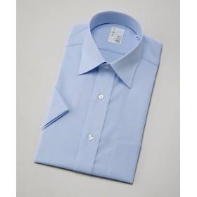 【SALE(伊勢丹)】<イムズ/IMZ> 形態安定/半袖ワイシャツ(ZMN410-250) 250・ブルー 【三越・伊勢丹/公式】