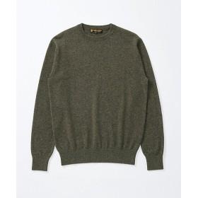 <アルファー/ALPHA> クールネックセーター(397940) 78・モスグリーン 【三越・伊勢丹/公式】