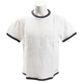 エルケクス(ELKEX) ワイドニットリブ Tシャツ 863EK8FQ5815WHT (Men's)
