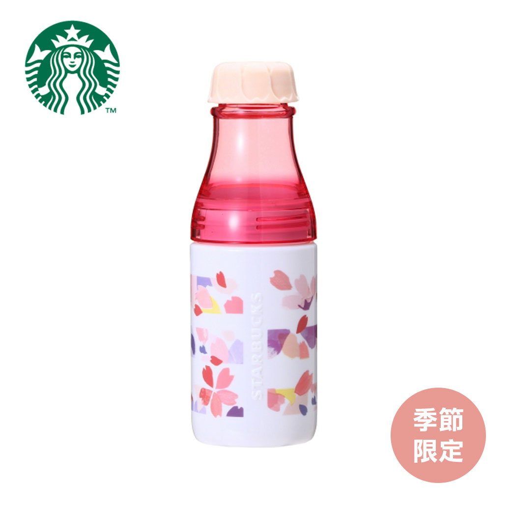 日本原裝星巴克 STARBUCKS SAKURA 2018陽光瓶花條500ML
