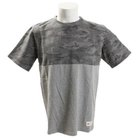 エルケクス(ELKEX) クルーネック 半袖Tシャツ 863EK8HD5789 BLK (Men's)