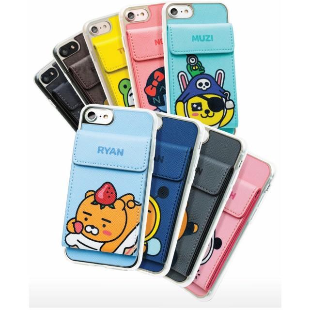Kakao Friends カカオフレンズ コスチューム ダイアリー ケース ♪ iPhone7/8 可愛い 手帳型 カード収納 人気 スリム