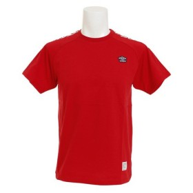 アンブロ(UMBRO) コットン ショートスリーブシャツ ULULJA54XB MRED (Men's)
