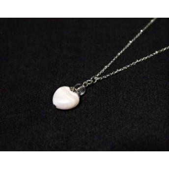 ピンクカルサイトのキラキラハートペンダント3 桃色 パワーストーン かわいい おしゃれ 水晶 当店人気作品 クリスタル