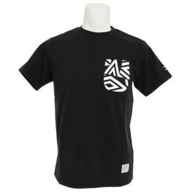 アンブロ(UMBRO) コットン ショートスリーブシャツ ULULJA55XB BLK (Men's)