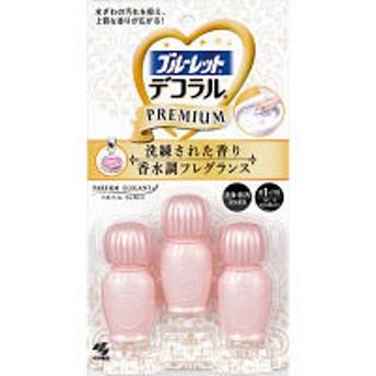 ブルーレットデコラルプレミアム トイレ芳香洗浄剤 パルファムエレガント(3回分) 小林製薬