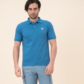 AIGLE メンズ メンズ 吸水速乾 イーグル ポロシャツ ZPH018J SAPHIR (071) シャツ・ポロシャツ