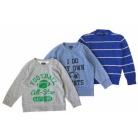 GAP ギャップ トレーナー ニットセーター 3枚セット (子供服 キッズ ベイビー スエット) 097704【中古】