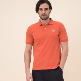 AIGLE メンズ メンズ 吸水速乾 イーグル ポロシャツ ZPH018J PAVOT (020) シャツ・ポロシャツ