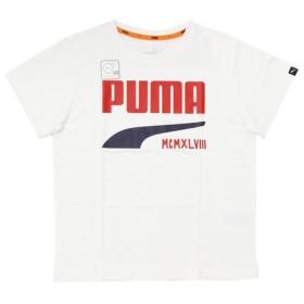 プーマ(PUMA) ショートスリーブTシャツ 592809 62 WHT- (Jr)