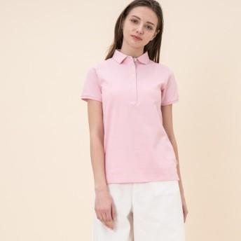 AIGLE レディース レディース 吸水速乾 ポロシャツ ZPF015J CAMEO PINK (012) シャツ・ポロシャツ