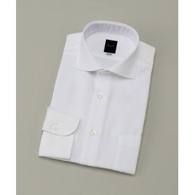 【SALE(伊勢丹)】<ビージーアール> カッタウェイ白ドビーシャツ(3048221427) ホワイト 【三越・伊勢丹/公式】