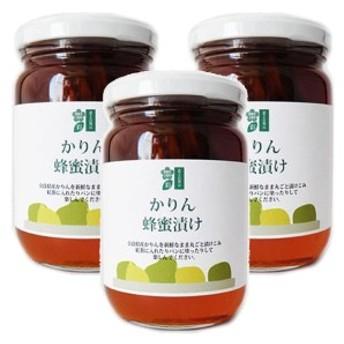 かりんの蜂蜜漬け 350g×3本セット はちみつ 奈良県産