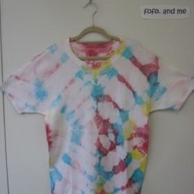 タイダイ染め 半袖Tシャツ (2)