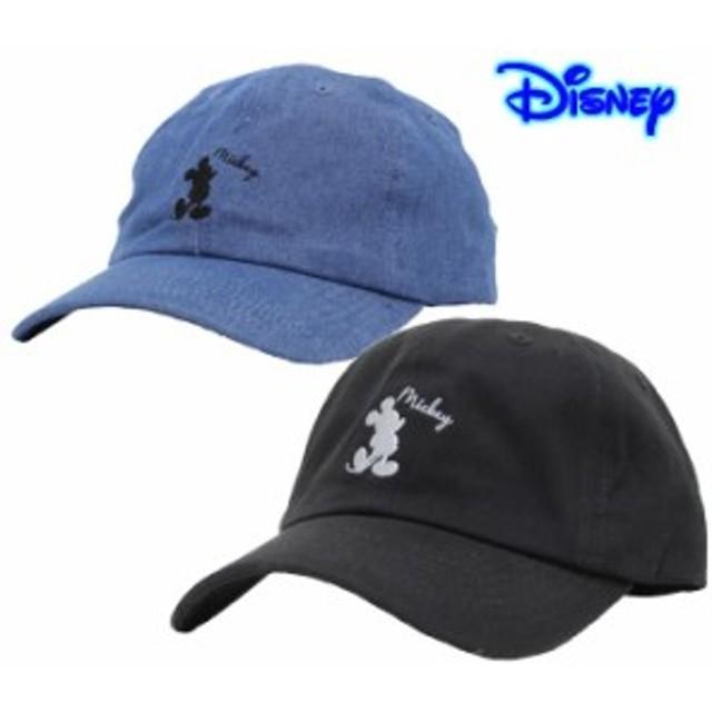 14cc79e37371 ミッキーマウス キャップ 帽子 メンズ レディース ディズニー ミッキー Mickeyシルエットローキャップ
