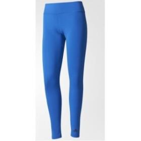 アディダス(adidas) D2M LONG TIGHT ブルー Mサイズ MKI60-BQ2065