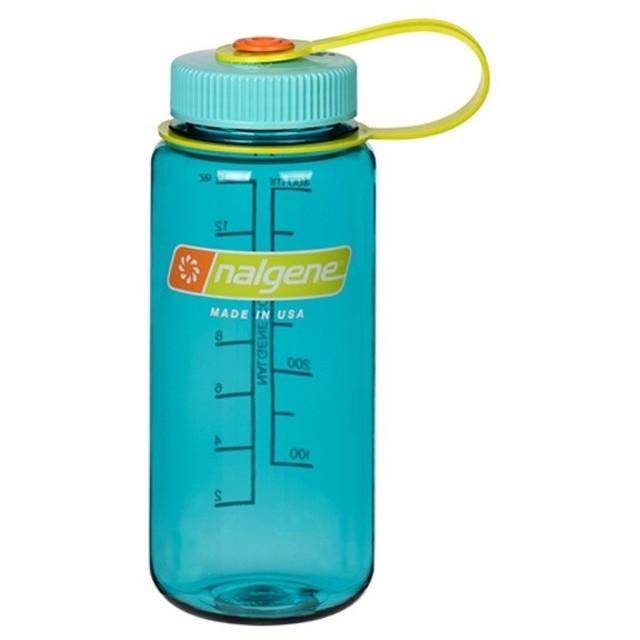 ナルゲン NALGENE 広口0.5リットル セルリアン 水筒 ボトル 0.5L 500ml BOTTLE BPAFREE Cerulean