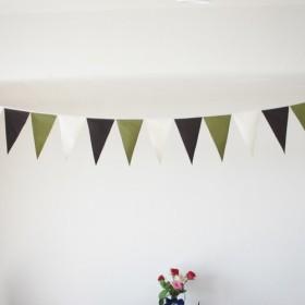 布ガーランド 290cm フラッグ 旗 結婚式 誕生日 パーティー キャンプ 飾り 和