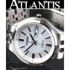 シチズン エクシード メンズ 腕時計 AT6000-52A ソーラー電波