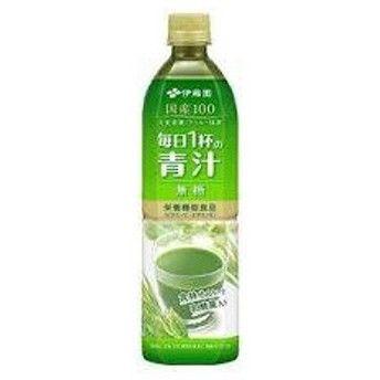 【12本セット】 伊藤園 毎日1杯の青汁 無糖 (900ml) ペットボトル飲料