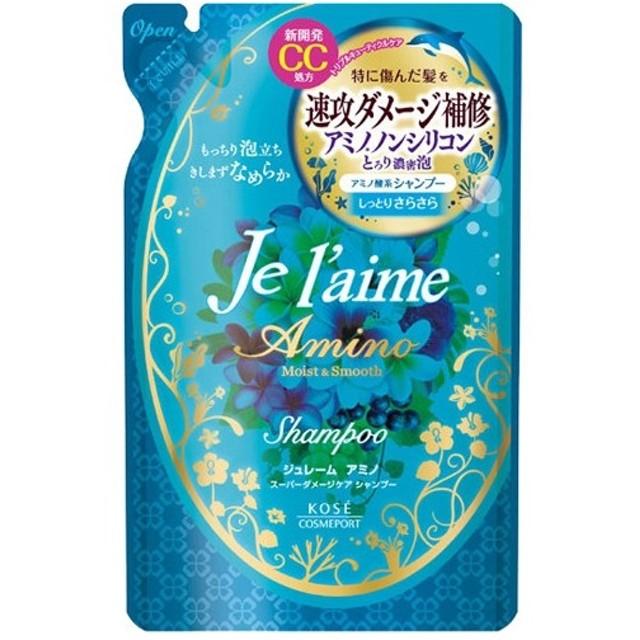 【処分品 在庫限り】ジュレーム アミノ シャンプー モイスト&スムース つめかえ用 400ml
