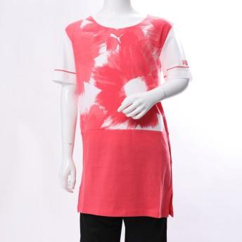 プーマ PUMA ジュニア 半袖Tシャツ Style AOP SS ロングTシャツ 852201