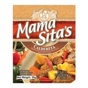 MAMA SITA`S SPICY SAUCE MIX(CALDERETA) 中華合わせ調味料(粉末)50g 写真の賞味期限は撮影時のものです。実際とは違う場合があります